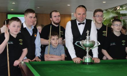 Stars Academy Ireland with World Champion Stuart Bingham, Ken Doherty & Fergal O'Brien