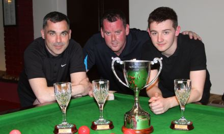 Joey's take Dublin Snooker Federation Cup 2016