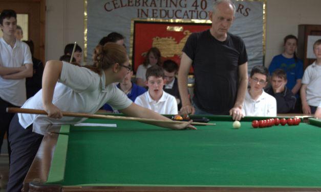 Trick Shot Exhibition at St Marks Special School Newbridge