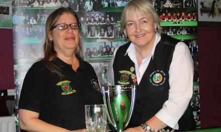 Laura Alves takes RILSA Ranking 1 the Griffith Cup at Joey's Dublin