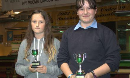 Keara Minion from Ballinnabranna Carlow wins RILSA National Primary School Championship 2016 recently