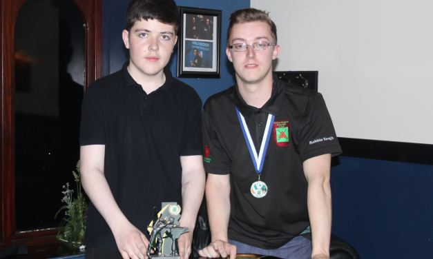 Adam O'Shea wins U17 Stars Academy Title in Newbridge