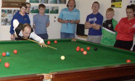 Fergal O'Brien Visits St Laserians in Carlow