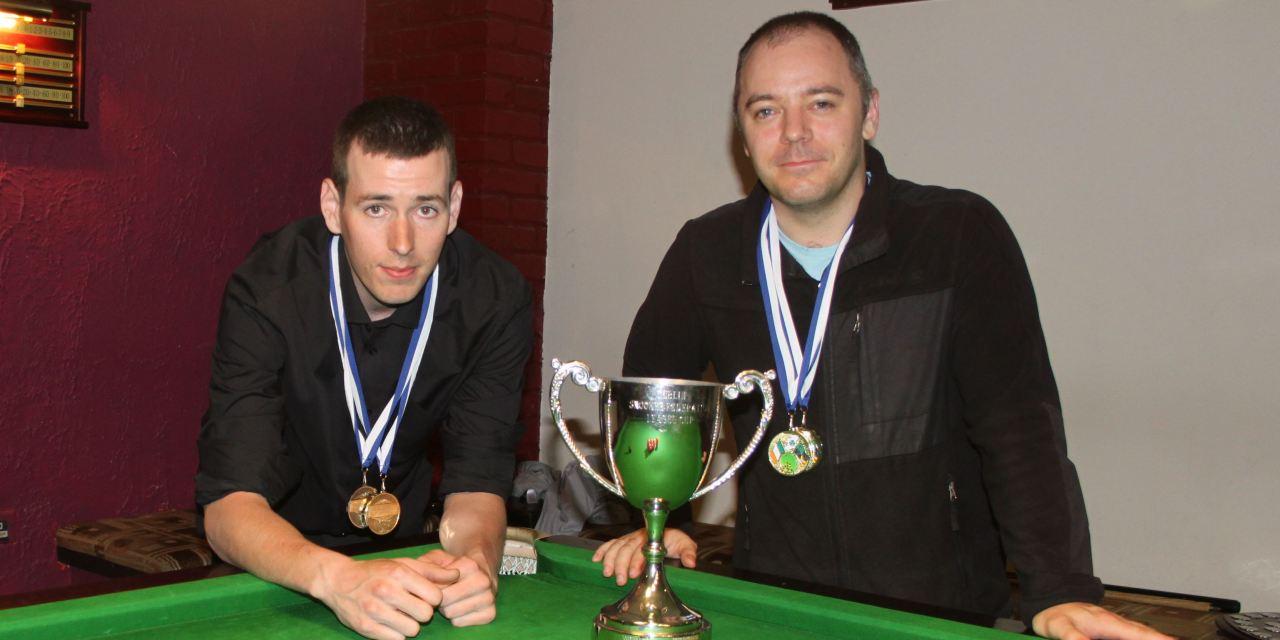 Joey's A team Top Dublin Snooker Federation League after 1st half of season ends