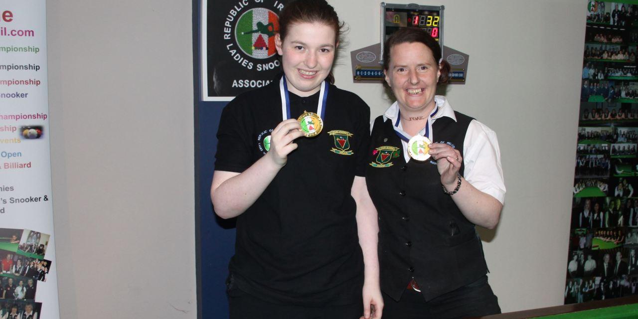Rachel Bradley wins RILSA Intermediate Ranking at Sharkx Newbridge