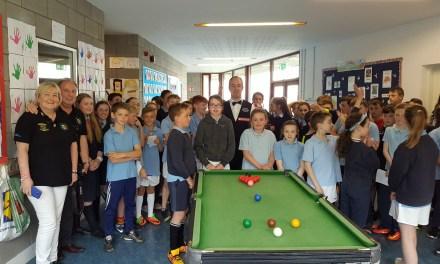 Fergal O'Brien Visits Ballinabranna National School in Carlow