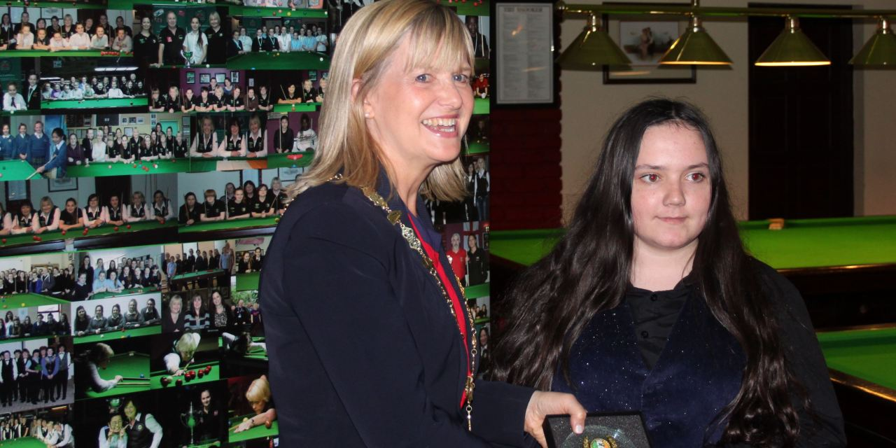 Katie French wins RILSA International 6 Red event at Joey's Dublin