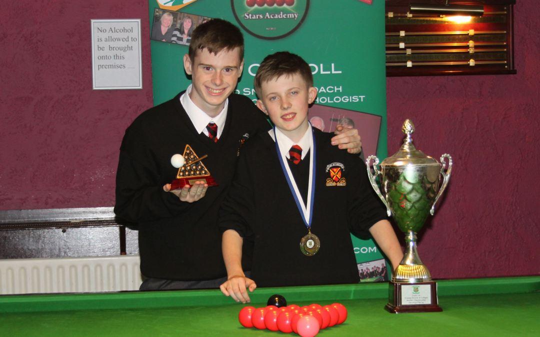 Paul Hamevy Wins Stars Academy Under 14 National Schools Championship at Joey's Dublin