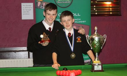 Paul Hamevy Wins Stars Academy Under 14 National Schools Championship at Joey's Dublin