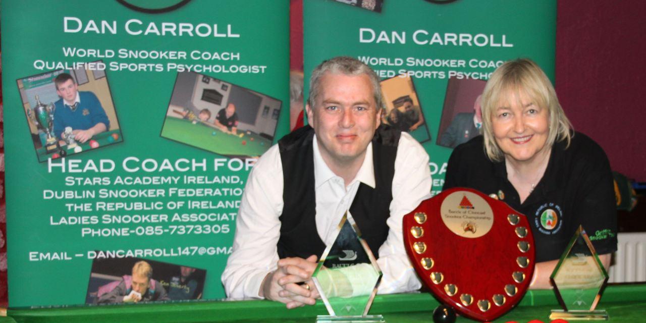 John O'Boyle claims the 2017 Battle of Clontarf Title at Joey's Dublin