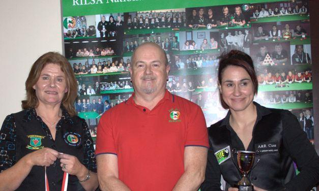 Paula Judge is Dublin Open Champion 2018