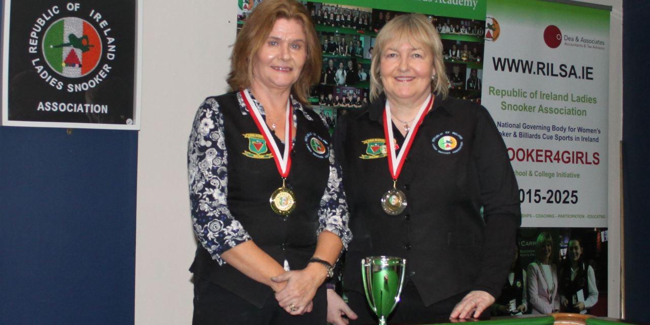 Cathy Dunne is RILSA Kildare Open Champion 2018
