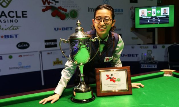 Ng On Yee Wins her 3rd World Championship title in Malta