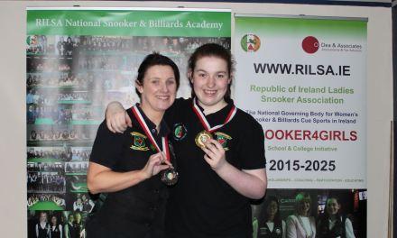 Rachel Bradley wins RILSA Intermediate Ranking 5 in Newbridge
