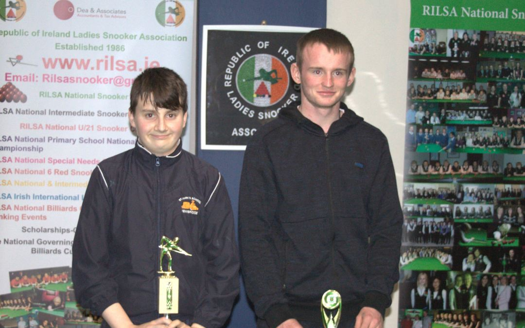 Connor Flynn from St Marks Newbridge is 2018 National Special Needs Champion