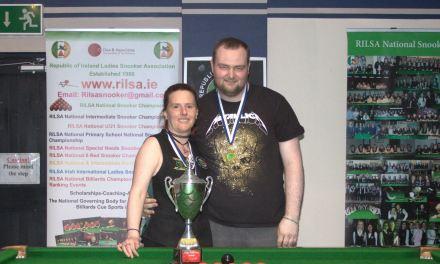 Sharkx B Team take Leinster Snooker Federation Inaugural Cup Title in Newbridge