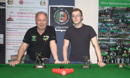 Dan Carroll is Leinster Snooker Federation Individual League Champion