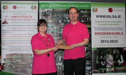 Fergal O'Brien Wins RILSA Inaugural Pink Ribbon Pro-Am @ Sharkx Newbridge