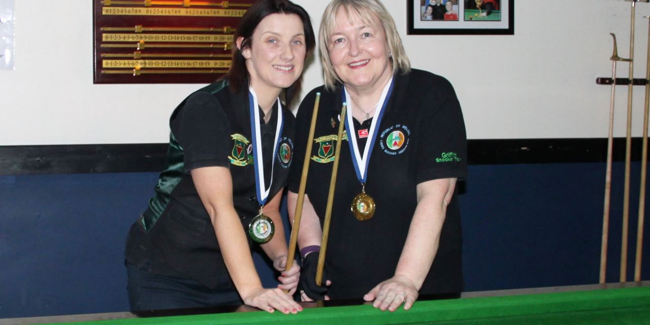 Annette Newman Wins Billiards Ranking 4 at Sharkx Newbridge