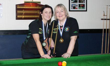 Annette Newman Wins Billiards Ranking 4 at Sharkx Newbridge