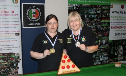 Michelle O'Boyle Wins RILSA 6 Red National Title at Sharkx Newbridge