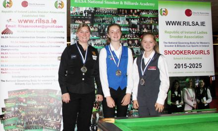 England win Home Nations Ladies Snooker Challenge In Dublin