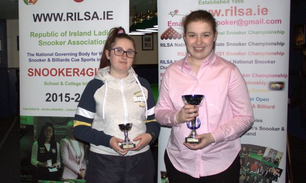 Rachel Bradley retains her National special Needs Title at Sharkx Newbridge