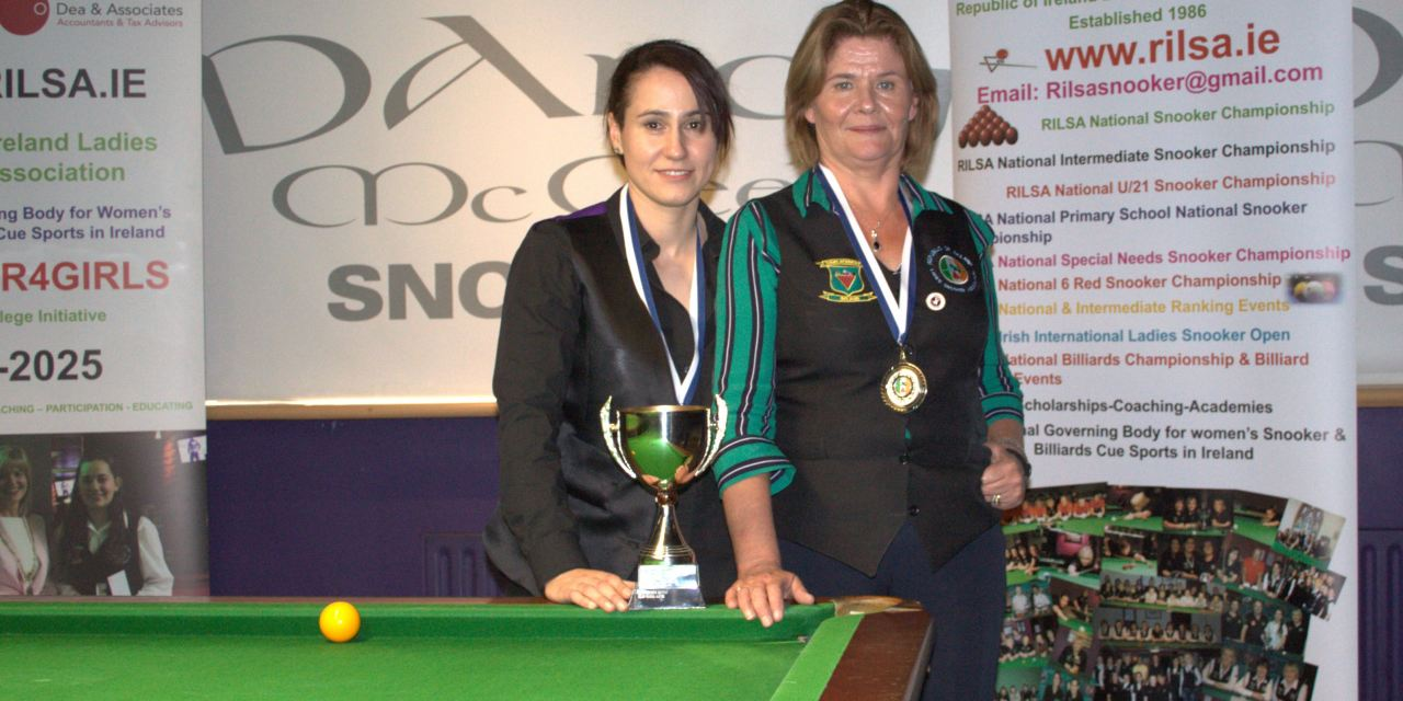 Paula Judge takes RILSA Ranking 1 The Griffith Cup at Spawell Dublin