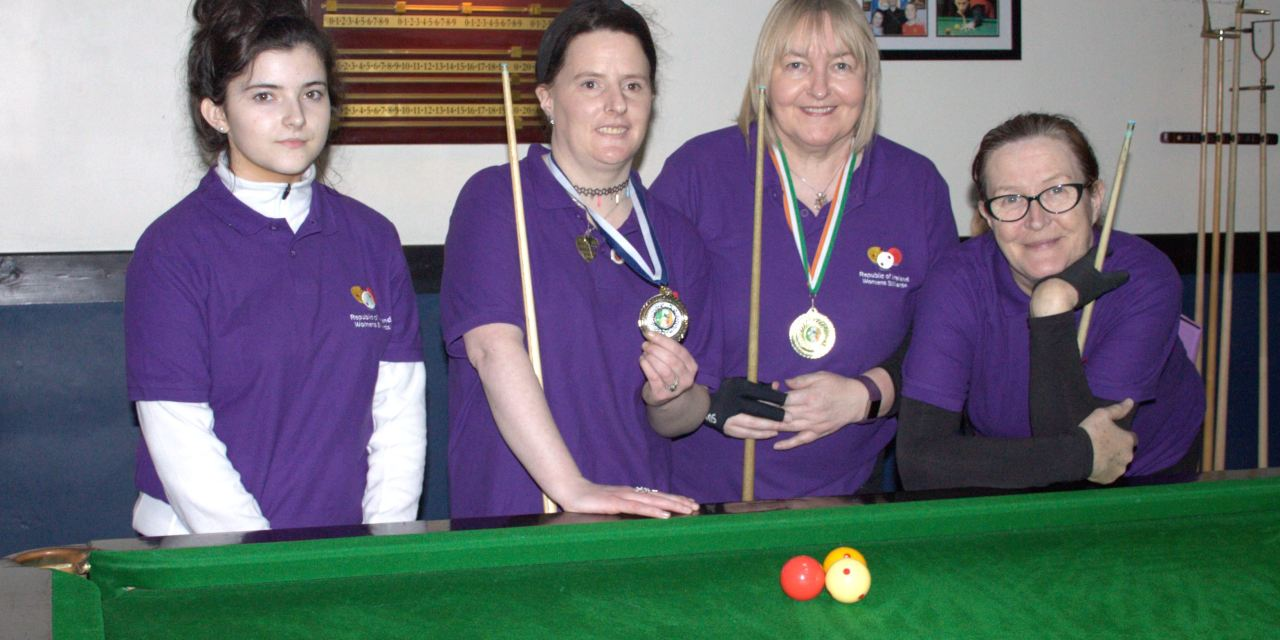 Annette Newman got her 2019 Billiards Campaign off to a great start winning The Stars Academy Masters ranking 1
