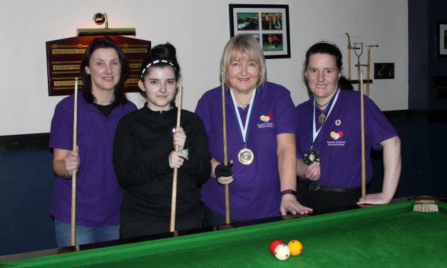 Annette Newman Wins National Billiards Ranking 2 – Sharkx Open in Newbridge