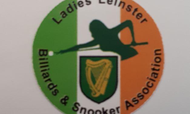 The Ladies Leinster Billiards & Snooker Regional Association is Set for 2019-2020 RILSA Season