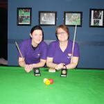 Tina Keogh Wins Intermediate Billiards Ranking 2 @ Sharkx Newbridge