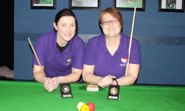 Tina Keogh Wins Intermediate Billiards Ranking 2 @ Sharkx Newbridge