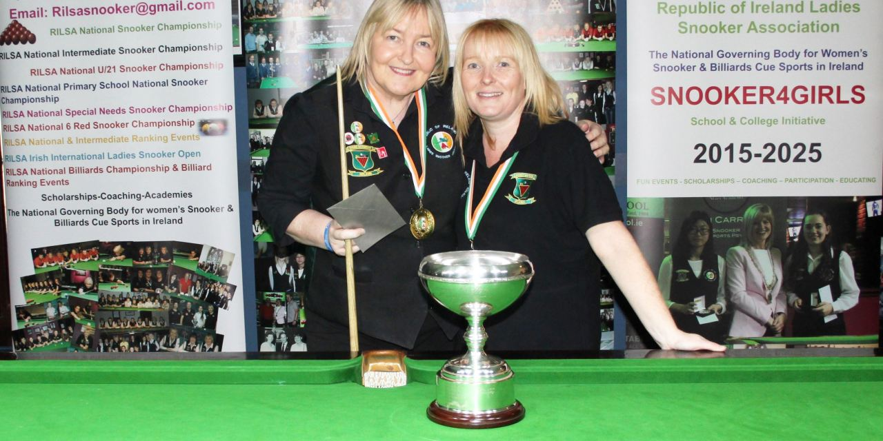 Annette Newman Wins Maureen Butler Cup @Sharkx Newbridge