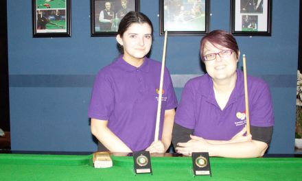 Tina Keogh Wins Intermediate Billiards Ranking 3 – Making it two in a row