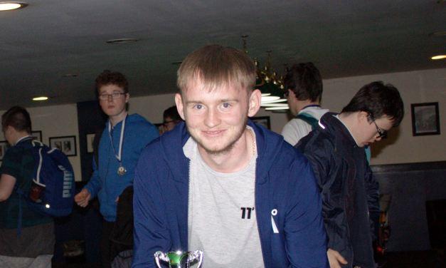 Tristan Hurley Wins National Special Needs Championship at Sharkx Newbridge – Representing St Laserians carlow