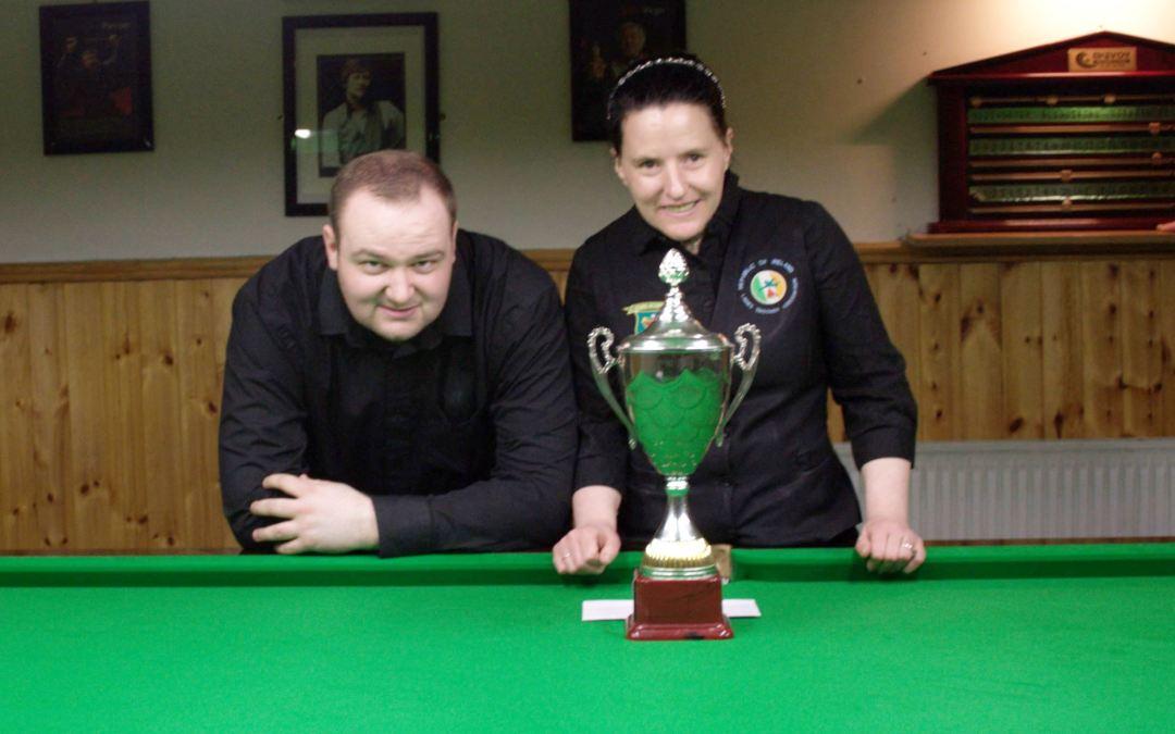 Sharkx B Team retain Leinster Federation Snooker Cup at the CYMS Newbridge