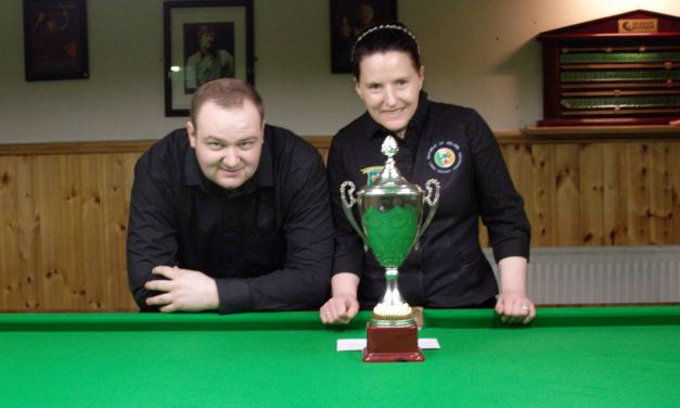 Sharkx B Team retain Leinster Federation Snooker Cup at the CYMS Newbridge