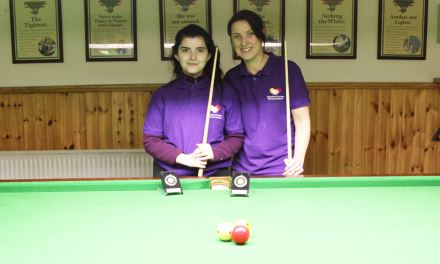 Valerie Maloney Wins Intermediate Billiards Ranking 4 at the CYMS Newbridge
