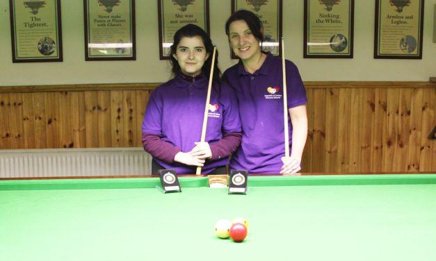 Valerie Maloney Wins Intermediate Billiards Ranking 4 at the CYMS Newbridge