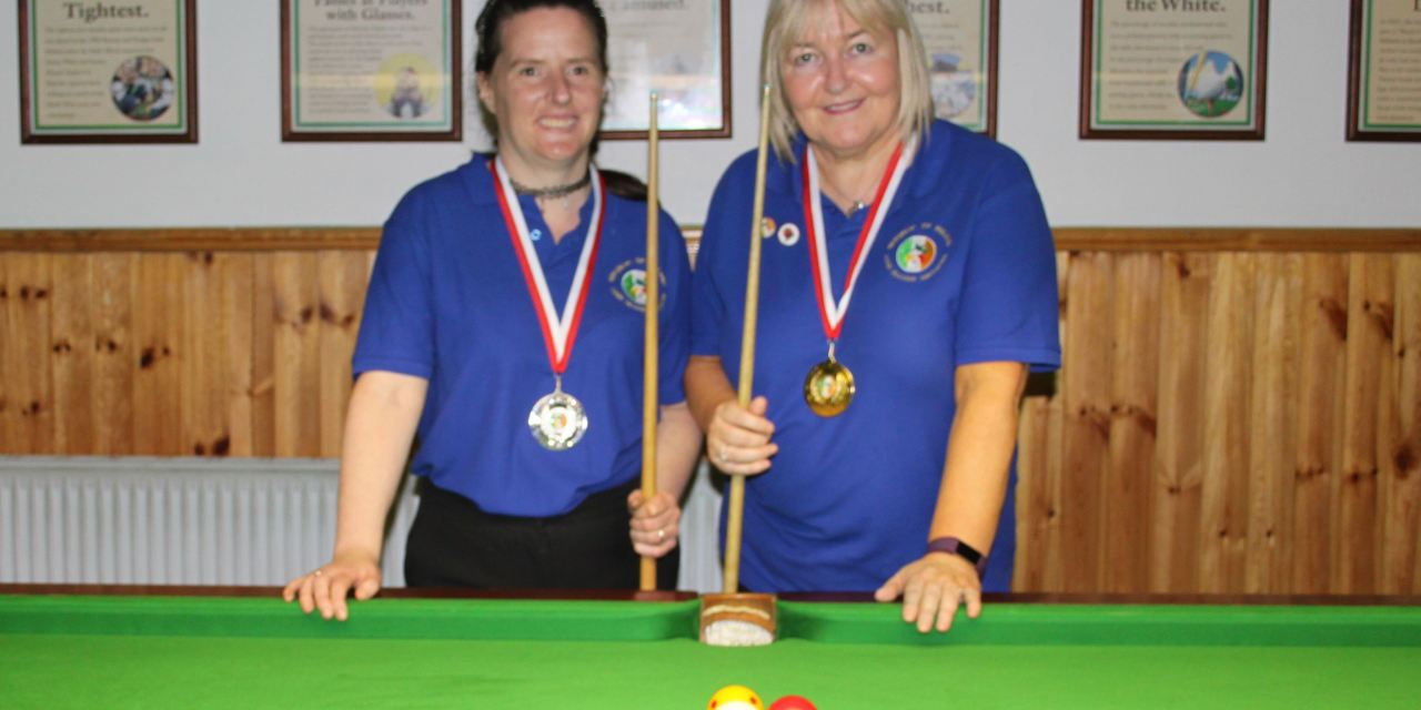 Annette Newman wins National Billiards Ranking 6 at the CYMS Newbridge