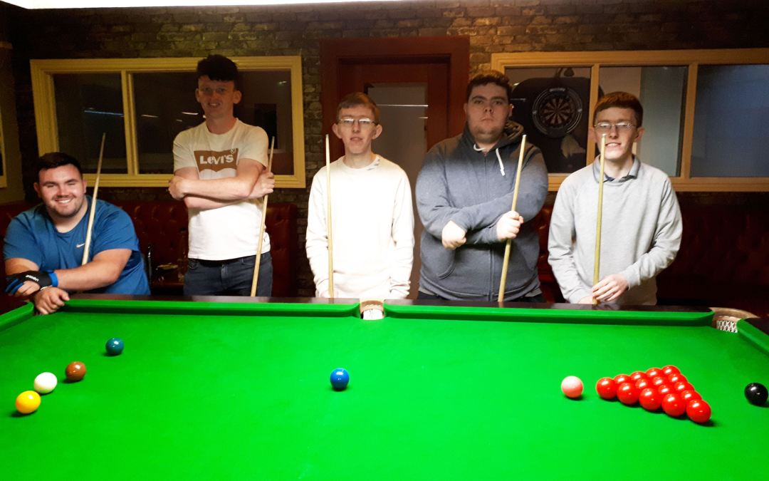 Special Needs Snooker & Pool Coaching at Sharkx Newbridge