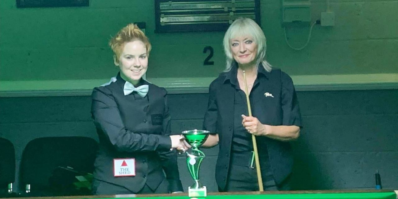 Chucky Preston Wins Northern Ireland Ladies Snooker Event at the 147 Club Antrim
