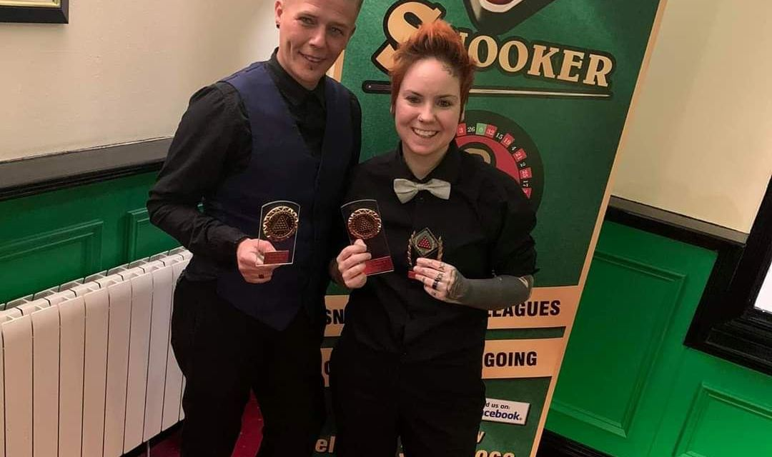 Chucky Preston makes it 3 in a row taking the Northern Ireland Ladies Snooker Event 3 in Newry