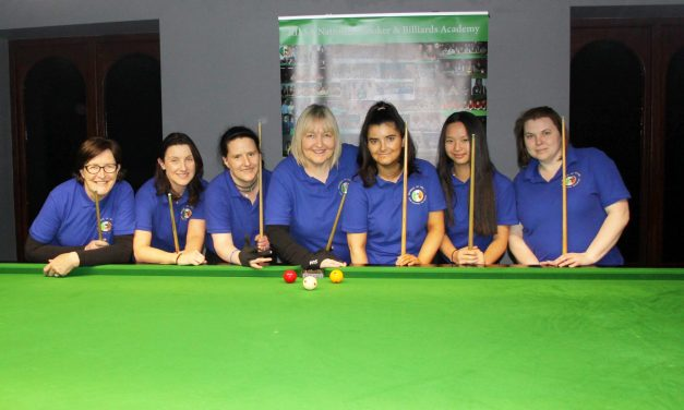 Annette Newman Wins Billiards Ranking 1 – The Stars Academy Masters @ Sharkx Newbridge