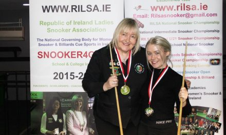 Annette Newman Wins RILSA National Ranking 5 the Kildare Open at Sharkx Newbridge