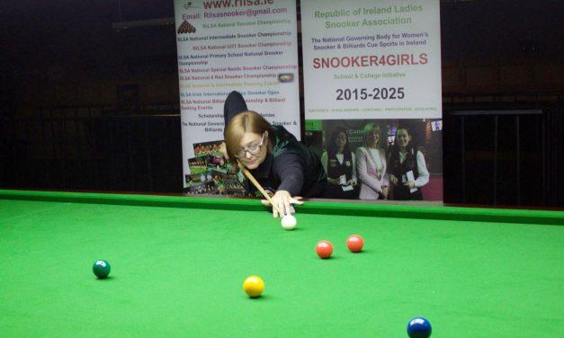 Tina Keogh Wins Griffith Pot Black Championship in Newbridge