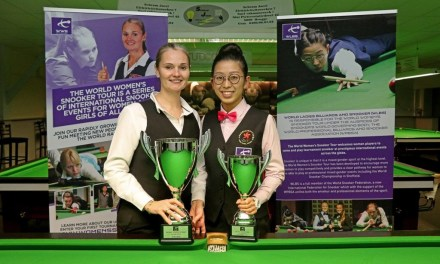 WORLD WOMEN'S SNOOKER AWARDED TOUR PLACES