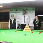 Michelle French Wins the RILSA National 6 Red Snooker Championship at Sharkx