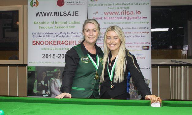 Suzanne Randle Wins her first National Intermediate Ranking Event in Newbridge